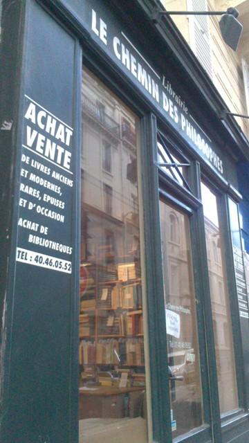 Paris Winter Bookshops