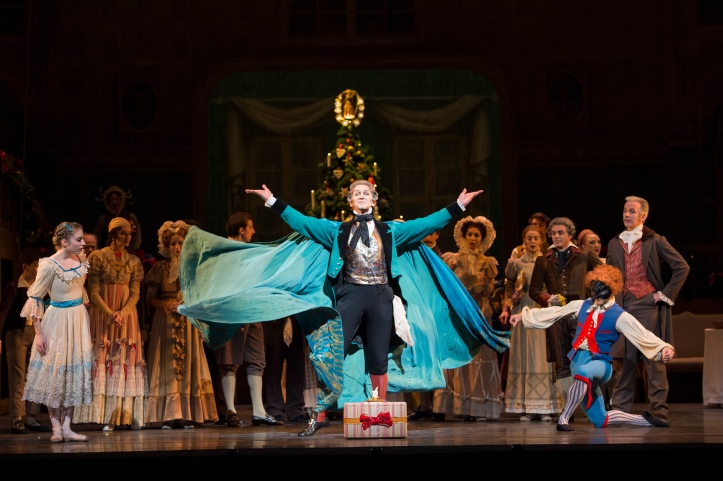 Gary Avis as Drosselmeyer (c) ROH - Bill Cooper 2012