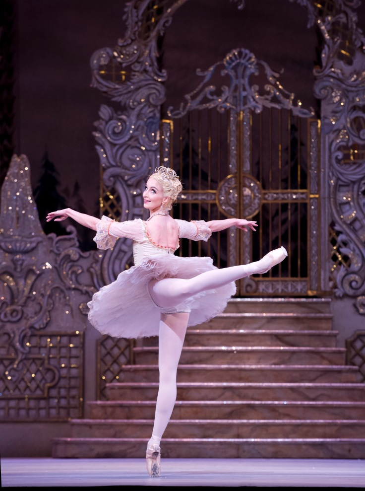 THE NUTCRACKER; Music by Tchaikovsky; Lauren Cuthbertson (as The Sugar Plum Fairy); The Royal Ballet; At the Royal Opera House, London, UK, 2013 ; Credit: Tristram Kenton / Royal Opera House / ArenaPAL